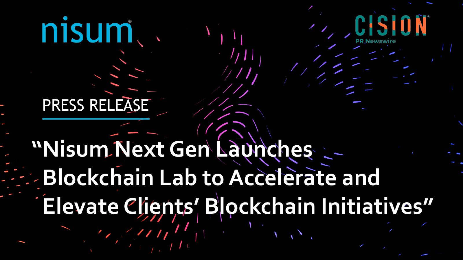 Nisum_Blockchain_Lab-PressRelease-Banner-1600px